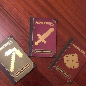 Minecraft guidebooks series